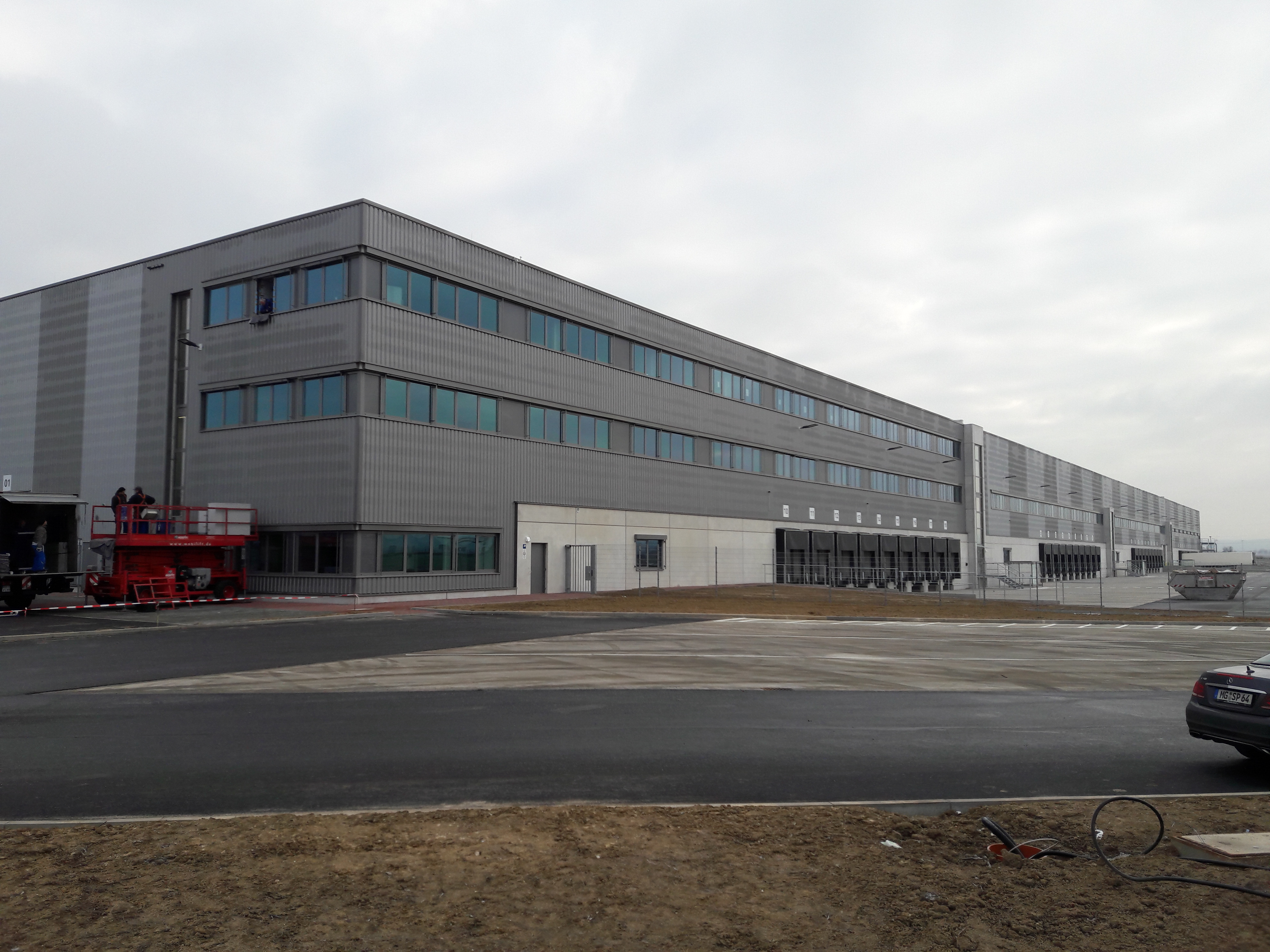 DHL Logistikzentrum Euskirchen